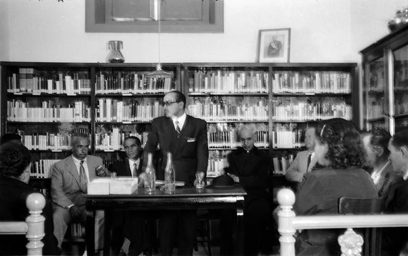 Inauguración de la Biblioteca Municipal V