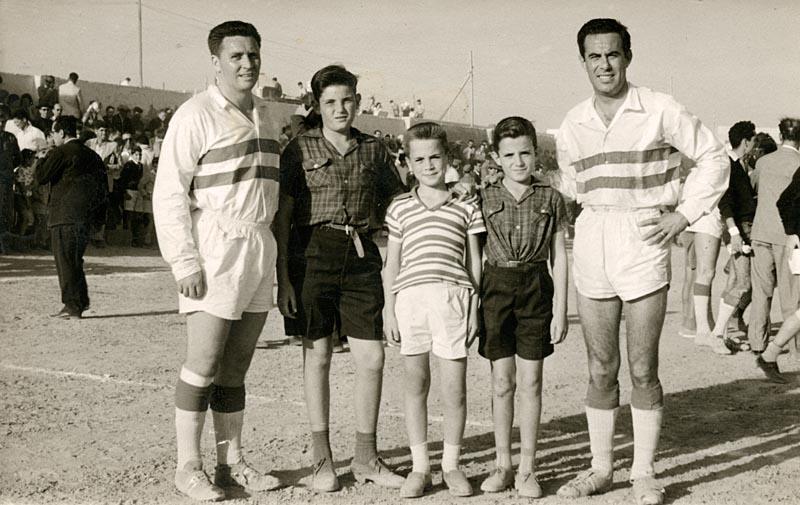 Luis Molowny y Miguel Cabrera en Lanzarote