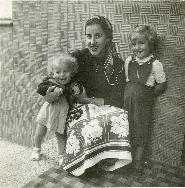 Juana Manrique y sus sobrinos