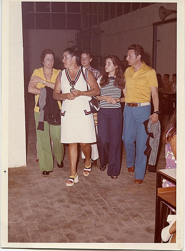 Juana Manrique con Alfredo Kraus