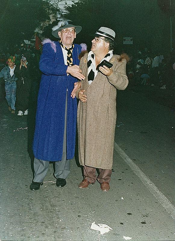 Juan Negrín y José García de Carnaval I