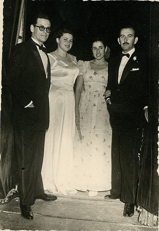 Alfredo Matallana y Juana Manrique