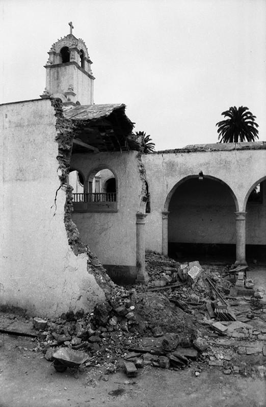 Derribo de la antigua iglesia de Haría XXIX