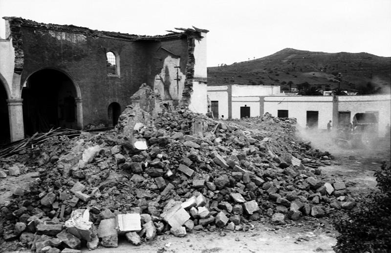 Derribo de la antigua iglesia de Haría XXVII