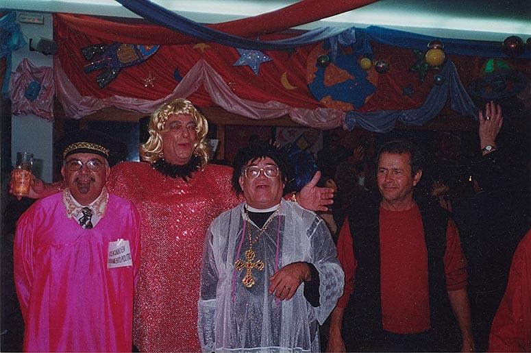Amigos en carnavales