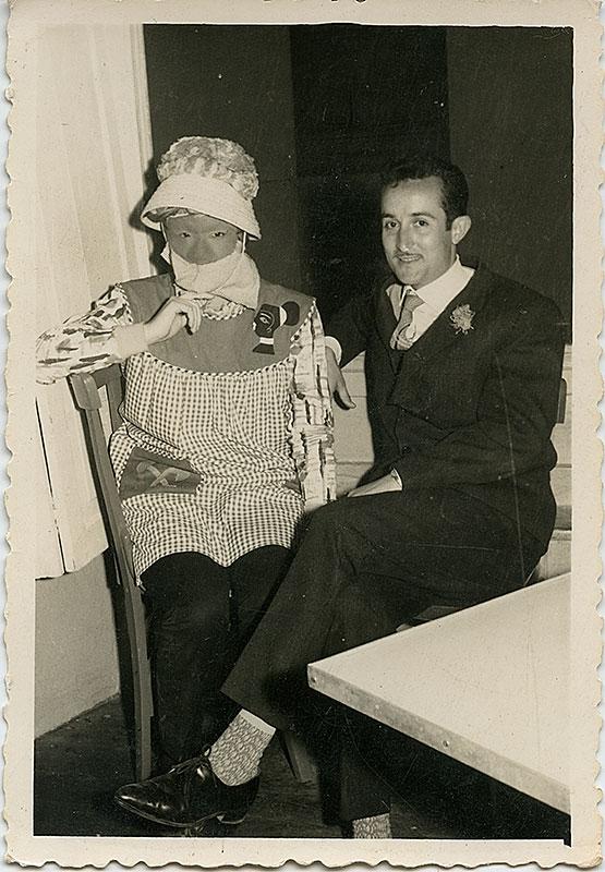 Maximino y Benigna de Carnaval