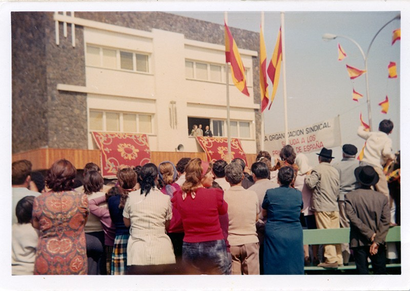 Visita de los Príncipes de España