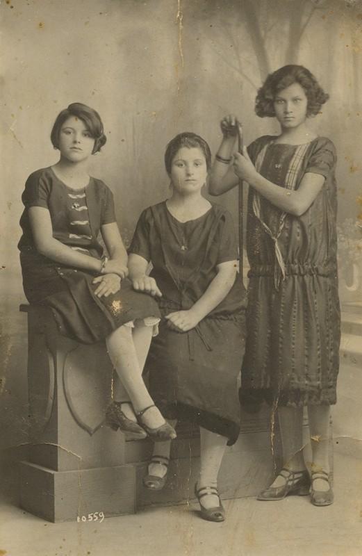 Retrato de tres damas