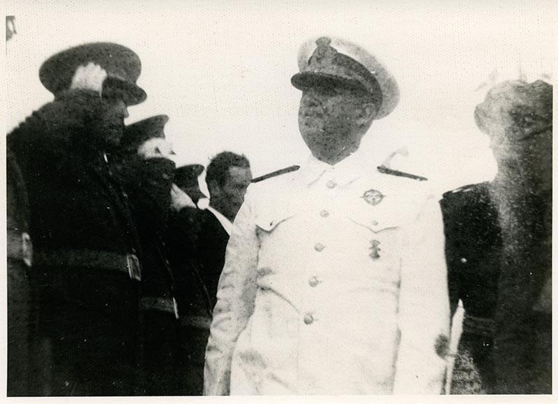 Visita de Franco X