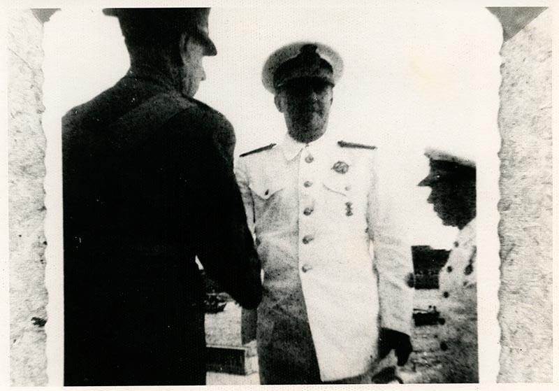 Visita de Franco XI