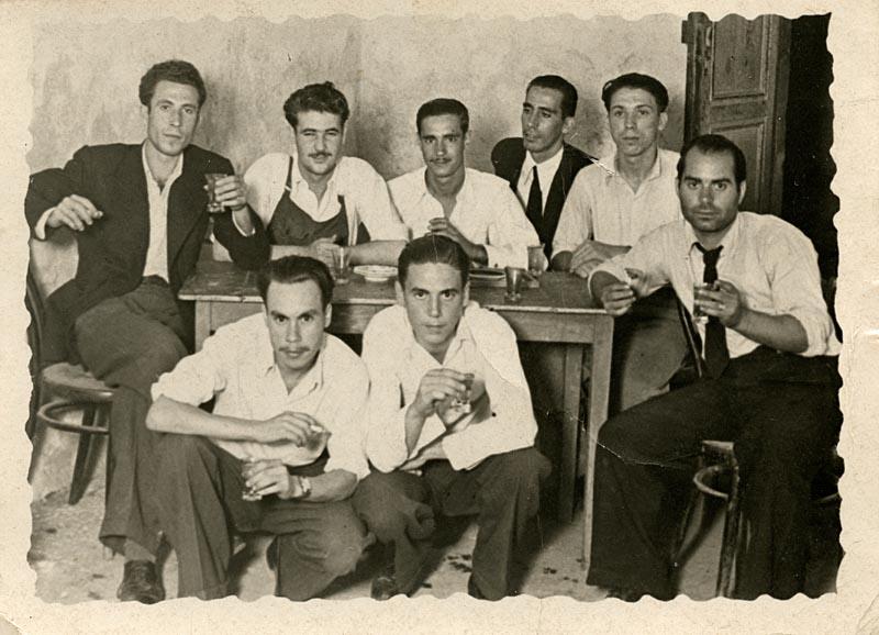 Francisco Armas y otros amigos