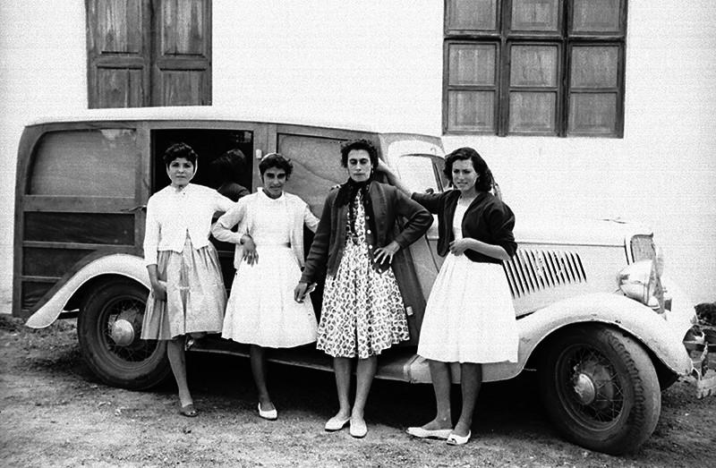 Grupo de muchachas