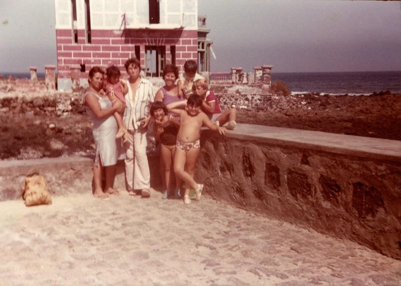 Katrina y su familia