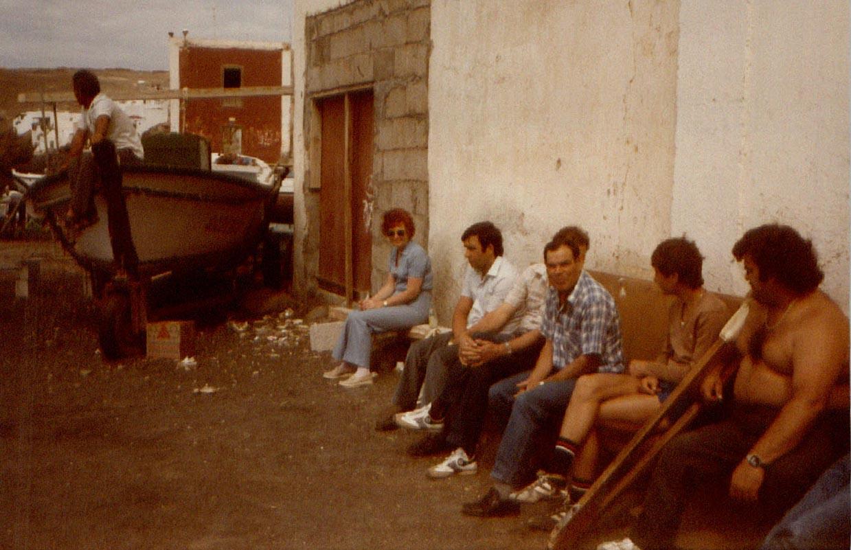 Vecinos de La Tiñosa