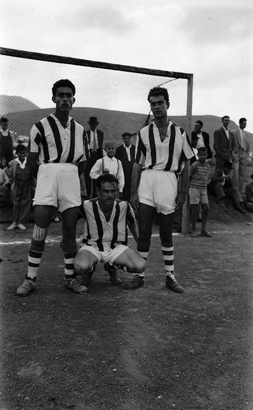 Futbolistas en Máguez
