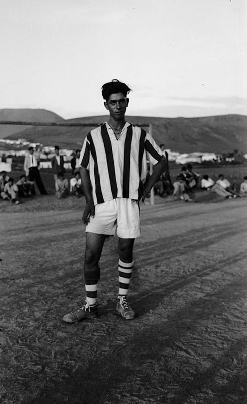 Futbolista en Máguez