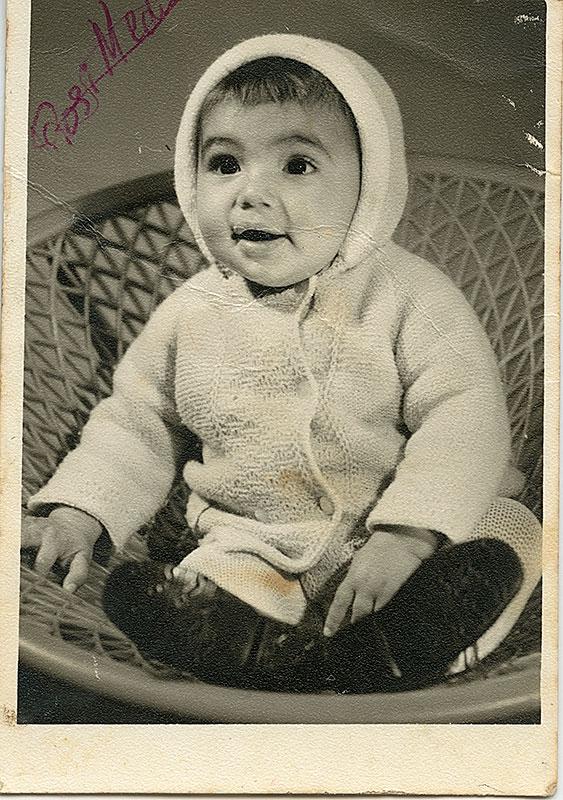 Pedro Avero con 2 años