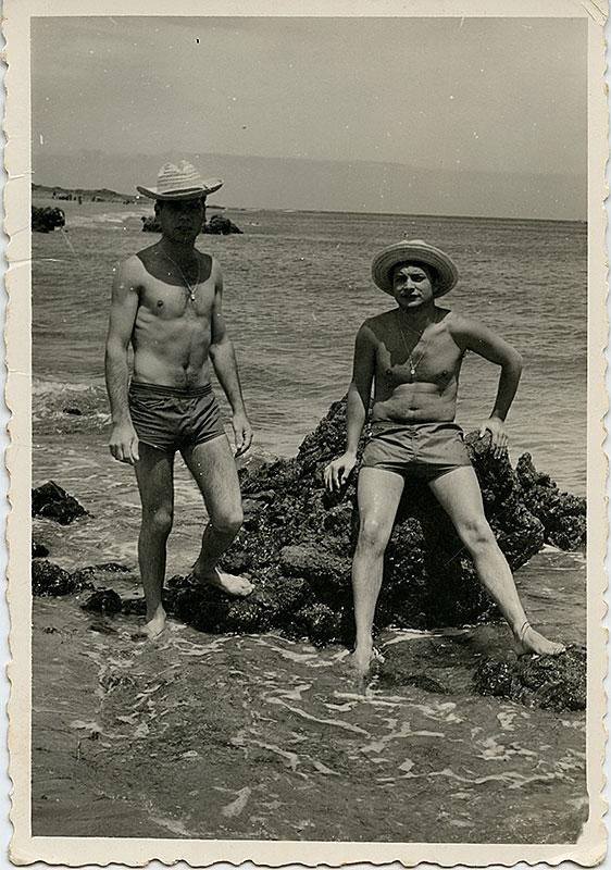 En la Playa Chica de Fariones