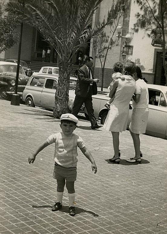 Niño en el 'Parque Viejo' II