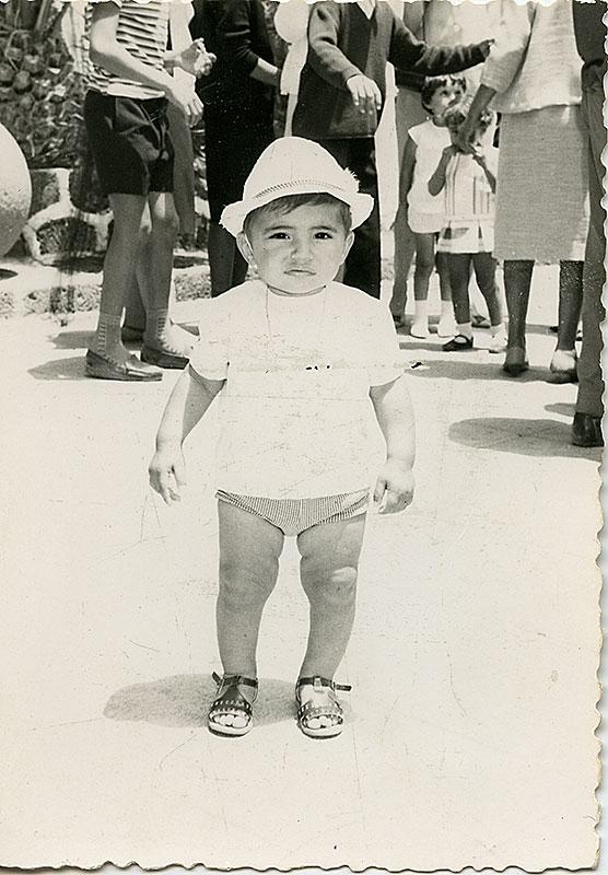 Niño en el 'Parque Viejo' III