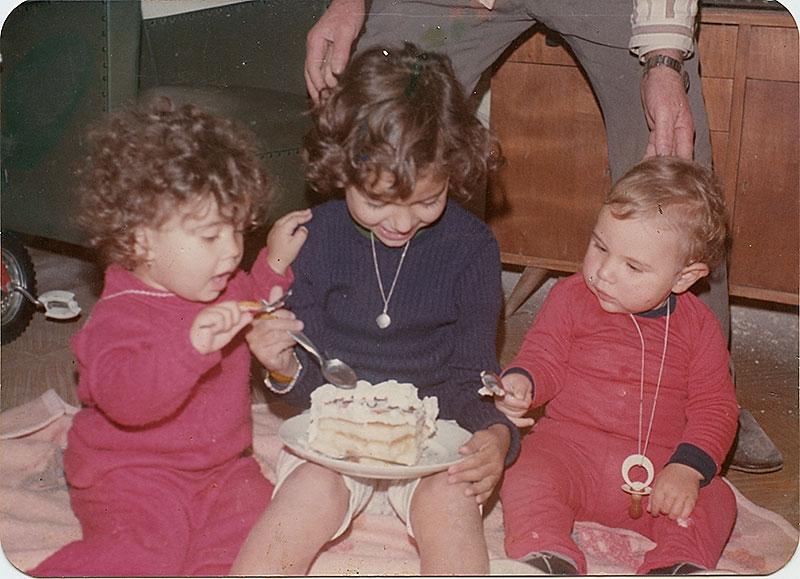 Tres primos y una tarta