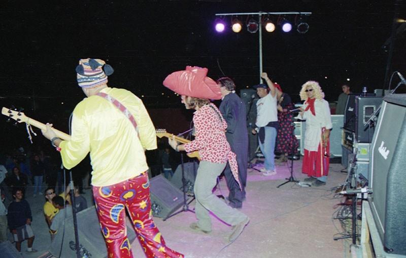 'Kardomillo' en el Festival 'Zurrón' 1998 VI