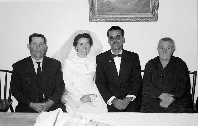 Recién casados de Haría