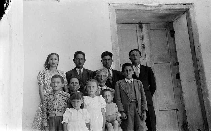 Familia de Santiago Betancort