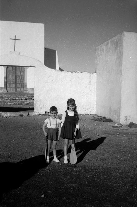 Niños en la Ermita de Las Nieves