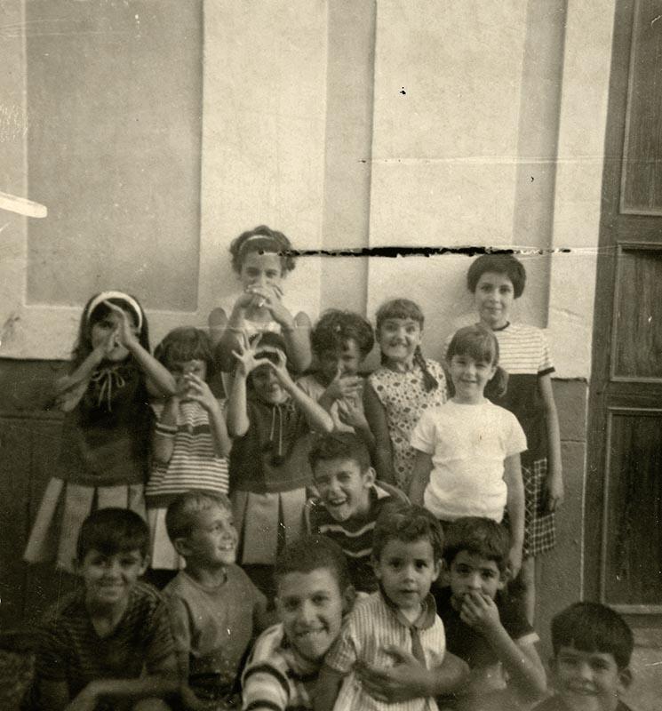 Niños en la calle El Duende I