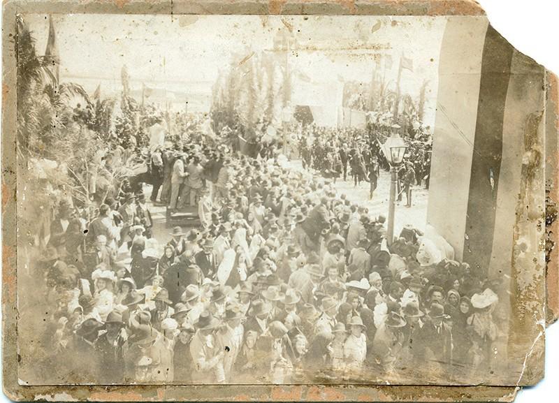 Bienvenida de Alfonso XIII