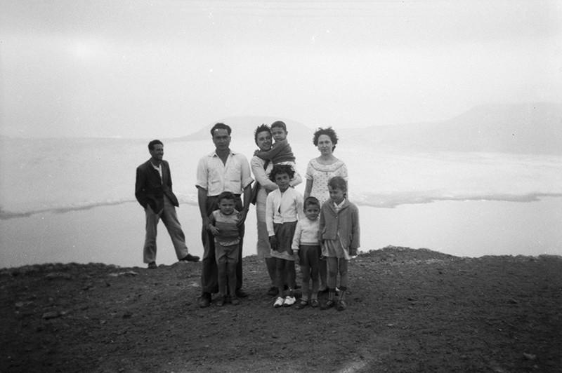 Raúl Socas y su familia