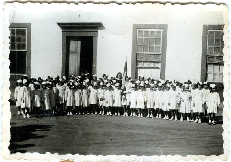 Curso 1952-53 de la escuela de doña Lola