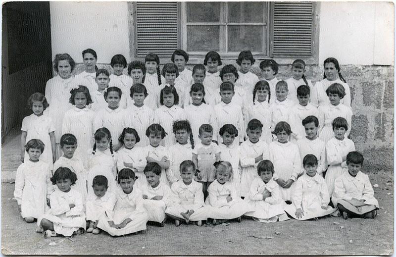 Curso 1958-59 de la escuela de doña Lola