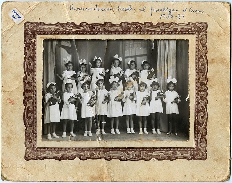 Representación escolar 1938-39