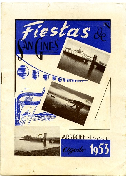 Programa de las fiestas de San Ginés de 1953