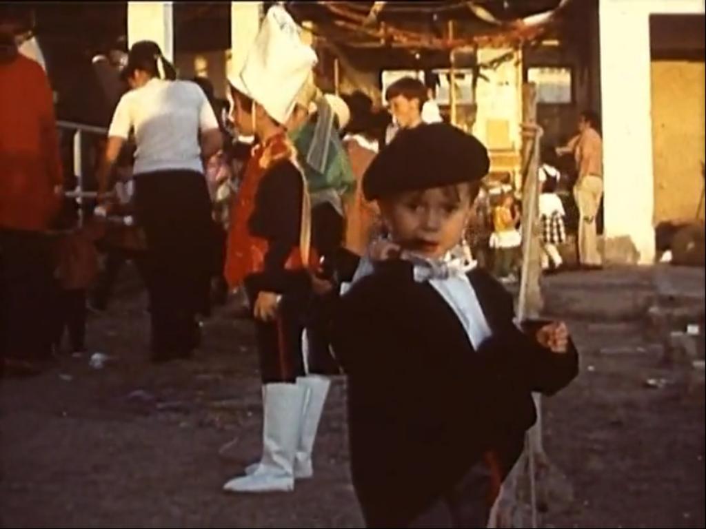 Carnaval infantil en el Club Naútico de Arrecife (1971)
