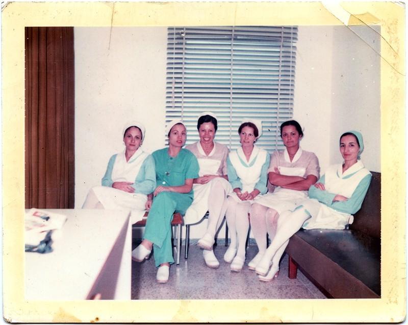 Enfermeras y auxiliares de la Casa del Mar
