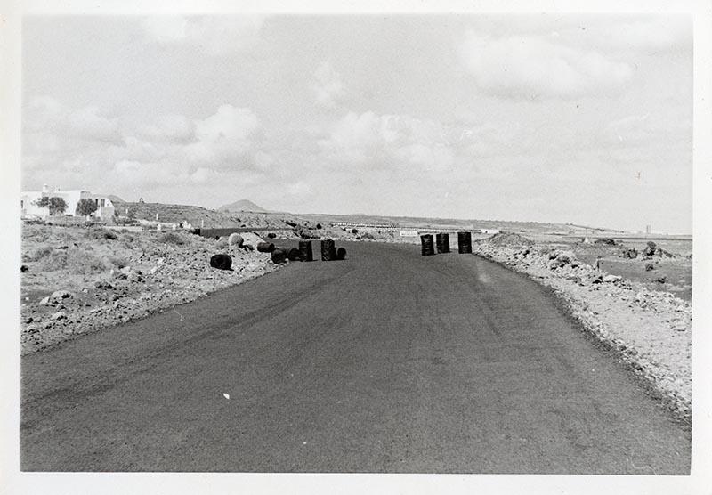 Construcción de la carretera a Puerto del Carmen I