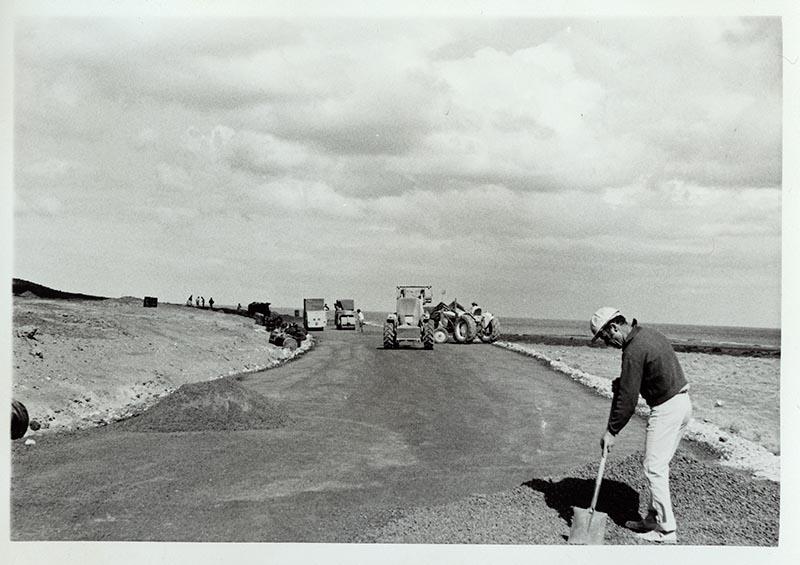Construcción de la carretera a Puerto del Carmen II