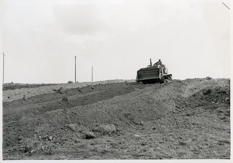 Construcción de la carretera a Puerto del Carmen V