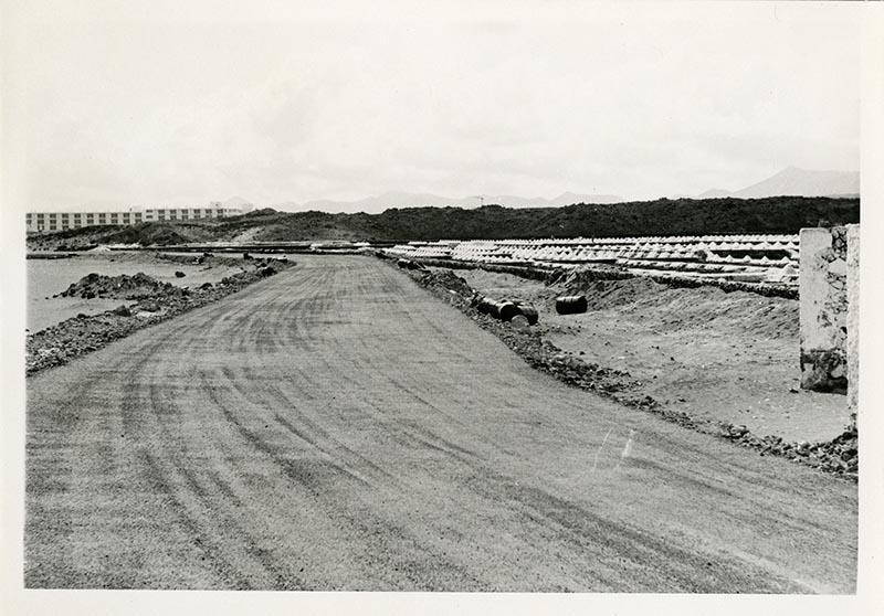 Construcción de la carretera a Puerto del Carmen VIII