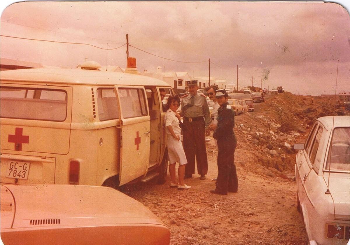 Primer servicio de la Cruz Roja en Lanzarote III