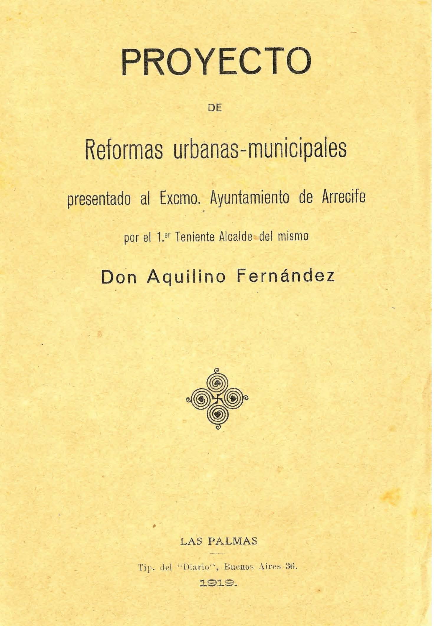 Proyecto de reformas urbanas-municipales