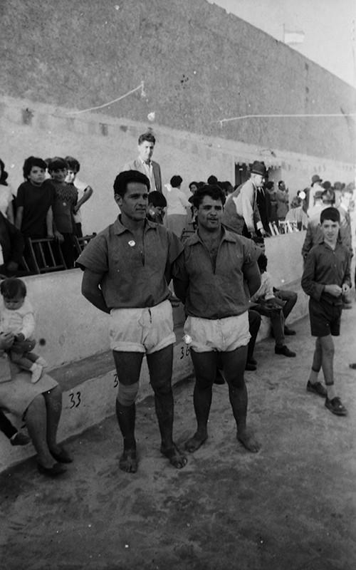 Francisco Curbelo y José Martín Zerpa