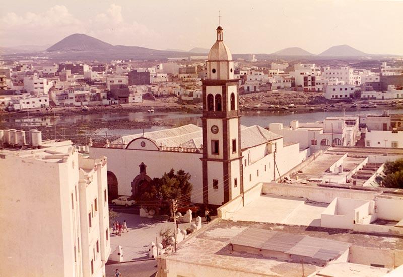 El Charco de San Ginés en los años 70
