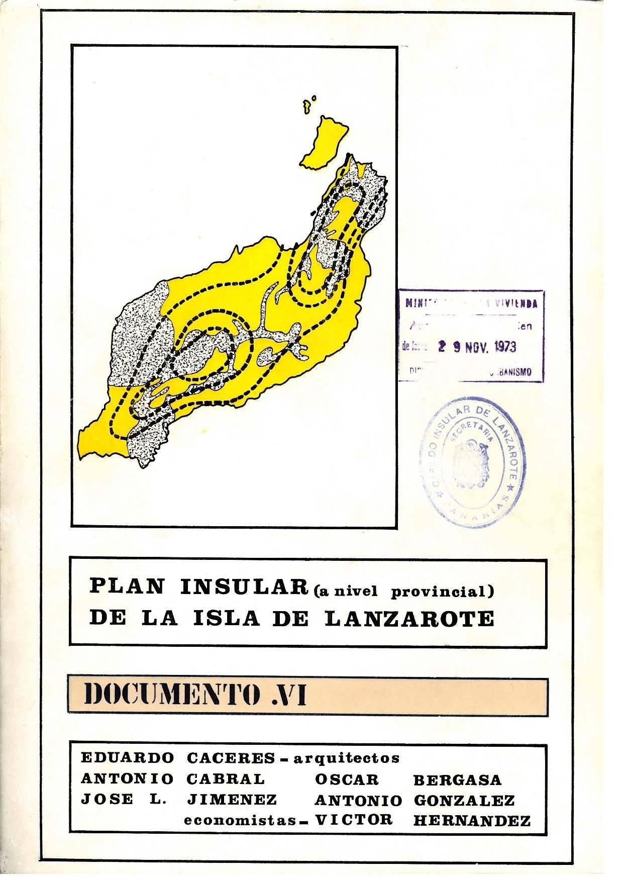 Documento VI (Plan de 1973): Ordenación Económica y Social