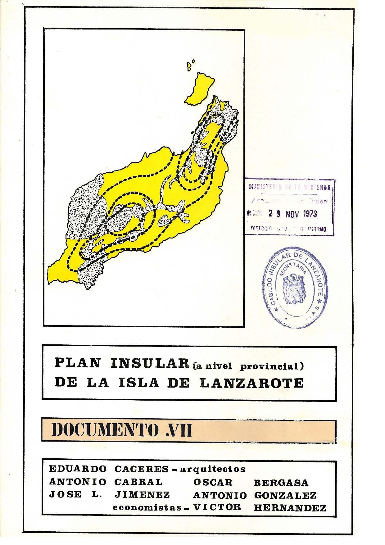Documento VII (Plan de 1973): Programa de actuación