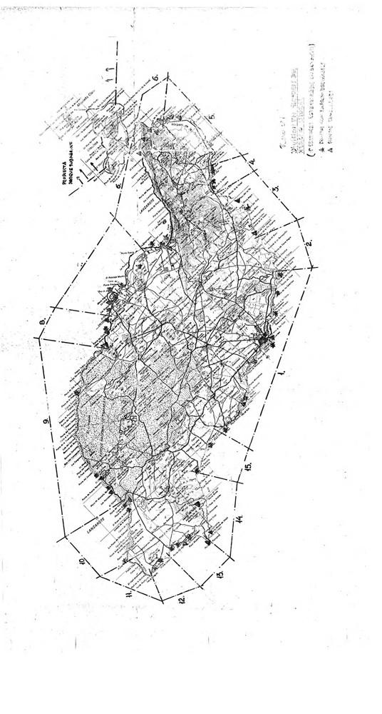 Anexo de mapas y planimetría del Avance del Plan Insular (1987)