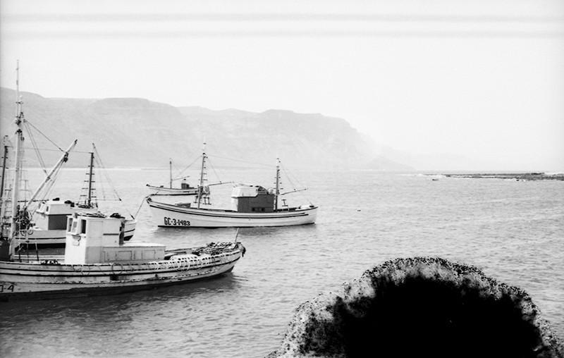 Barcos de La Graciosa
